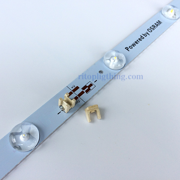 12w osram wide angle lens backlit rigid led module bar puncture terminals for lightbox signs 3 ritop lighting