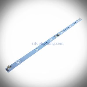 6w osram high power wide angle lens backlit rigid led strip with puncture terminals for lightbox signs ritop lighting