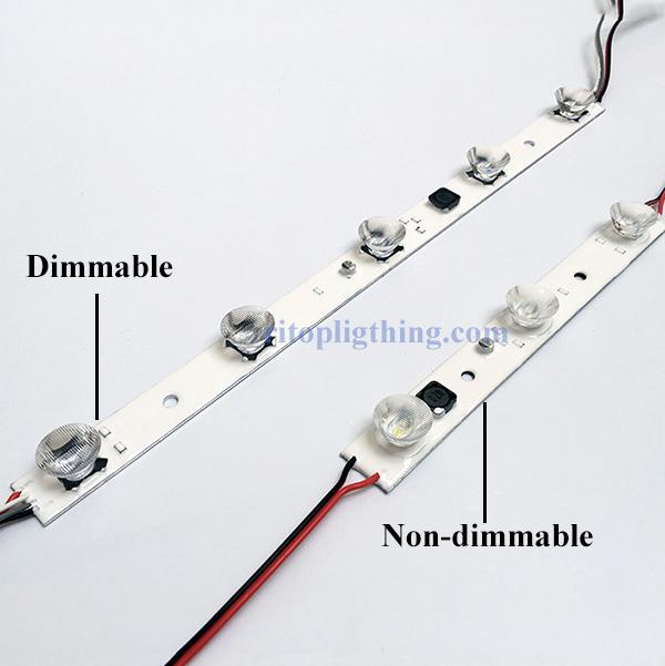 DC24V waterproof PWM dimmable edge lit lightbox led module 7 ritop lighting