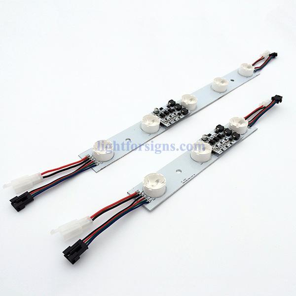 15W high power edge-lit RGB LED modules color change lightbox 4
