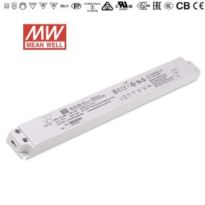 50W AC-DC constant voltage Meanwell slim linear LED driver power supply SLD-50 ritop