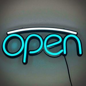 under line shop open led neon signboards-ritop lighting