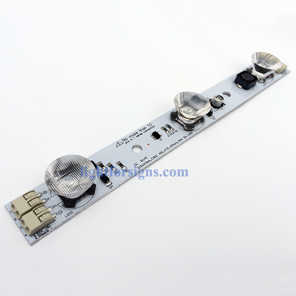 9W PWM dimmable high power led modules oval lens wago terminals 1–ritop lighting