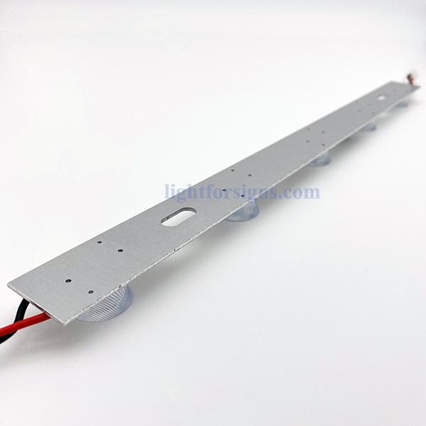 3 meters long light distance sidelit edge lit LED modules imported oval lens 2