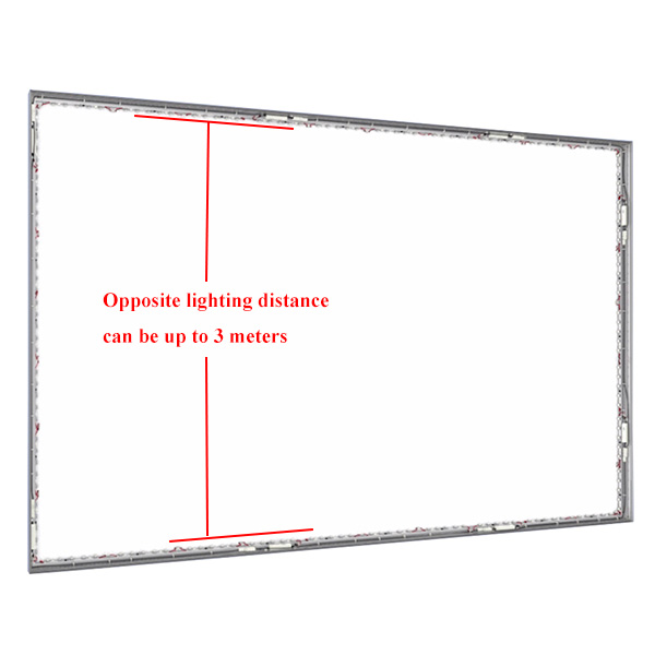 3 meters sidelit edge lit led modules bar lightbox application 1 ritop lighting